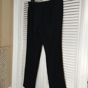 T by Alexander Wang black dress high rise pants  8
